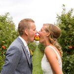 Trouwfotografie, spontane trouwfoto's